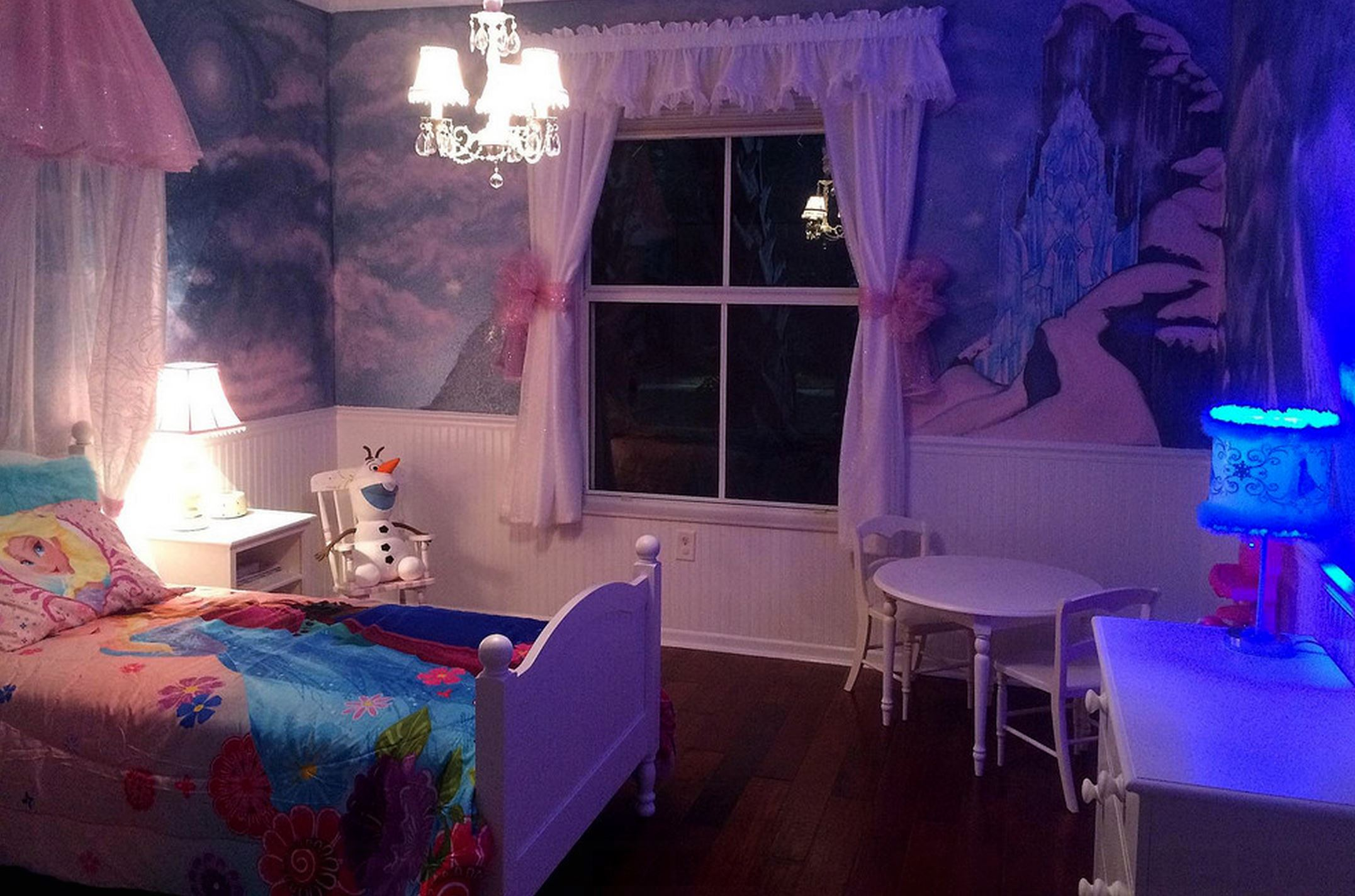 7 Inspiring Kid Room Color Options For Your Little Ones: Frozen Temperatures = Frozen Themes
