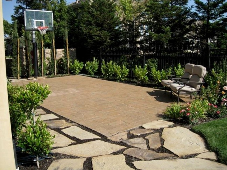 - Indoor/Outdoor Basketball Courts Elizabeth Erin Designs