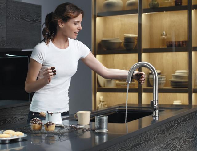 Kohler Sensate Touchless Kitchen Faucet Contemporary Kitchen The