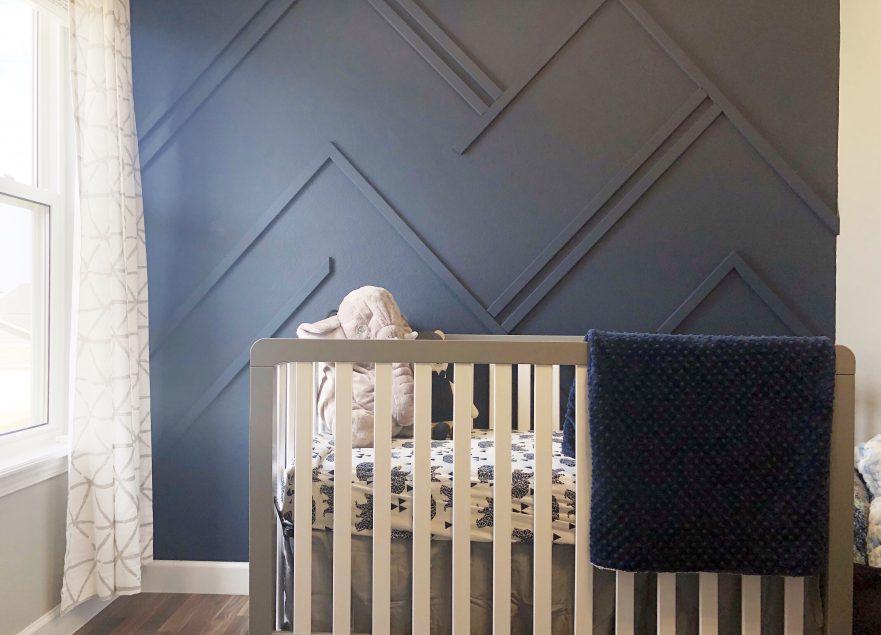 Navy Blue Nursery Elizabeth Erin Designs